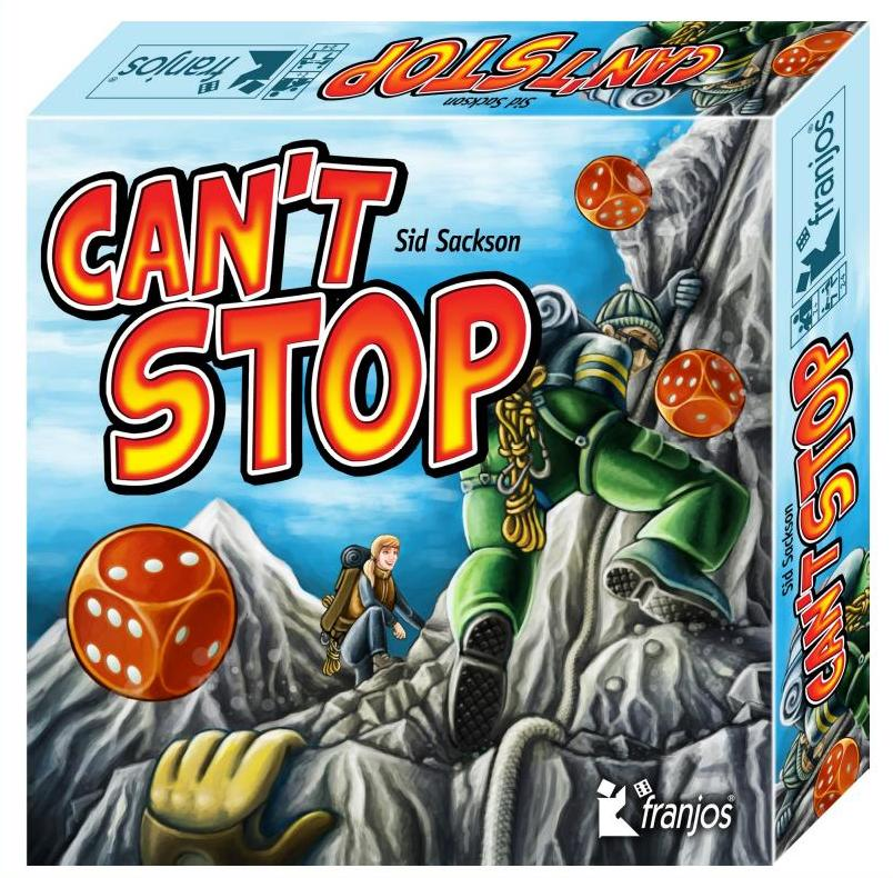 Can´t stop 2017 Packshot